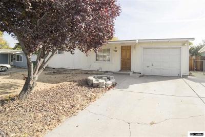 Reno Single Family Home New: 730 Stoker Ave