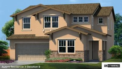 Reno Single Family Home New: 9410 Lost Valley Road #Lot #133