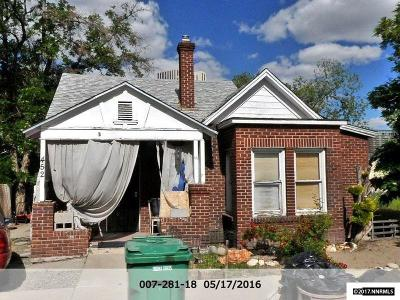 Reno Single Family Home New: 452 Ralston