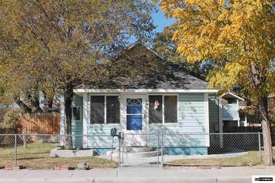 Fallon Single Family Home Active/Pending-Loan: 760 Cleveland Street