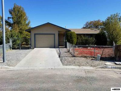 Fernley Single Family Home New: 532 Pioneer