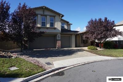 Reno Single Family Home New: 630 Steeplechase Court