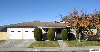 Washoe County Single Family Home Active/Pending-Loan: 2245 Platora Way