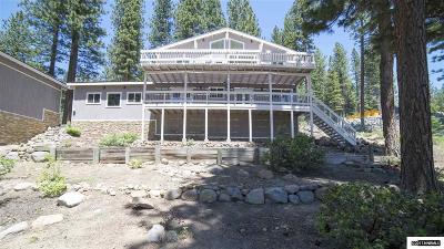 Incline Village Single Family Home For Sale: 645 Woodridge Circle
