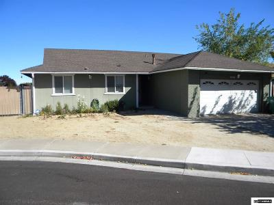 Reno Single Family Home New: 540 Ferol Way
