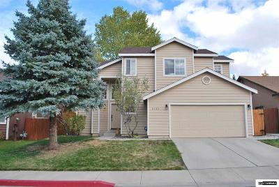 Reno Single Family Home New: 6582 Wassuk Ridge Rd.