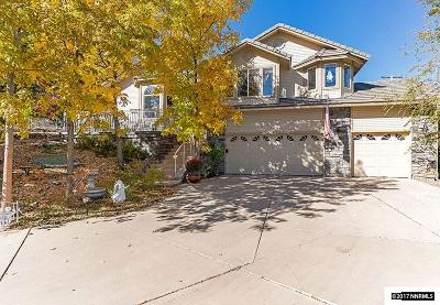 Carson City Single Family Home For Sale: 1172 Crain Circle