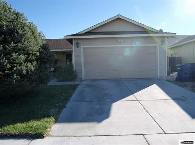 Fernley Single Family Home New: 508 St Louis