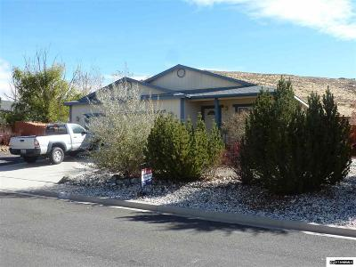 Reno Single Family Home New: 17280 Magnetite Dr