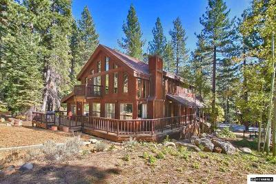 Incline Village Single Family Home Active/Pending-Loan: 783 Golfers Pass Road