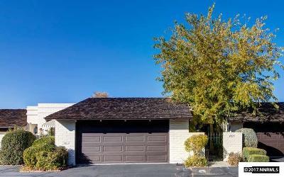 Reno Condo/Townhouse For Sale: 4825 Lakeridge Terrace West