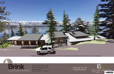 Incline Village Single Family Home For Sale: 424 Lakeshore Blvd