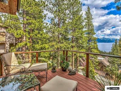 Incline Village Single Family Home For Sale: 543 Knotty Pine Drive