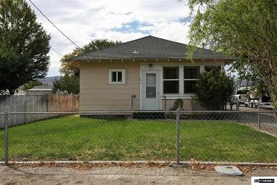 Yerington Single Family Home Active/Pending-Loan: 19 S Whitacre Street