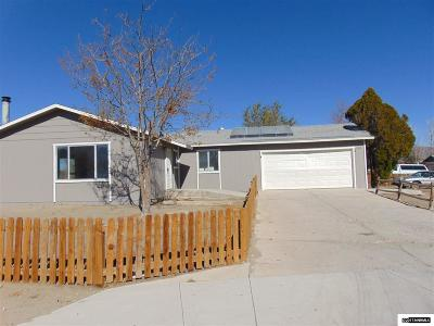 Fernley Single Family Home Active/Pending-Loan: 120 Comstock Drive