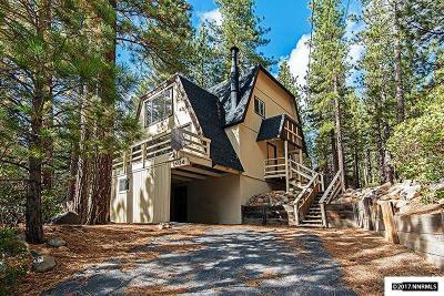 Incline Village Single Family Home Active/Pending-Loan: 1056 War Bonnet Way