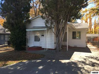 Carson City Single Family Home Active/Pending-Loan: 505 W Second Street