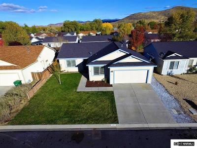Carson City Single Family Home Active/Pending-Call: 1217 Jacobs Way