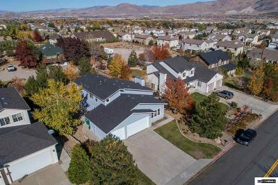 Washoe County Single Family Home Active/Pending-Loan: 3675 Butch Cassidy Drive