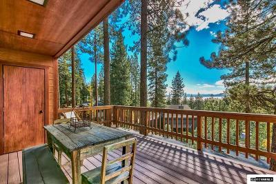 Incline Village Single Family Home For Sale: 725 Fairview Blvd #6 #6