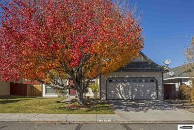 Carson City Single Family Home Active/Pending-Call: 1792 Walker