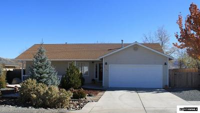 Carson City County Single Family Home Active/Pending-House: 4125 Lepire