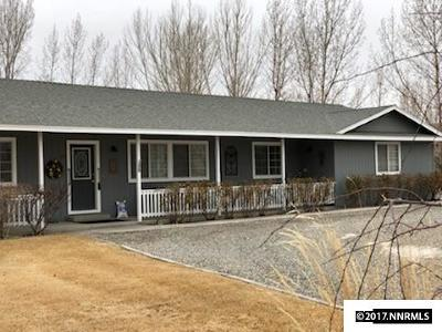 Yerington Single Family Home For Sale: 35 Mason Rd