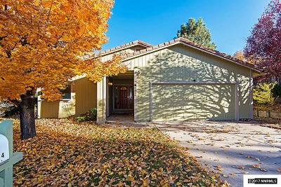 Washoe County Single Family Home Active/Pending-Loan: 2224 Escalera Way