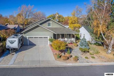 Carson City Single Family Home For Sale: 610 Elm Street