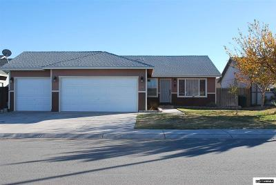 Fernley Single Family Home Active/Pending-Loan: 714 Tamsen Road