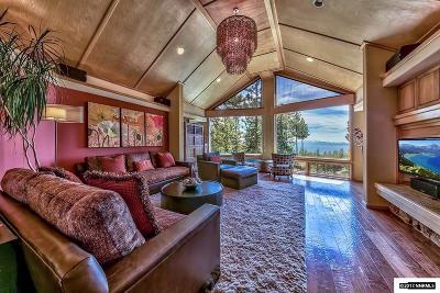 Incline Village Single Family Home For Sale: 707 Cristina Drive