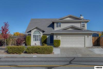 Carson City Single Family Home Active/Pending-Call: 1449 Gregg Street