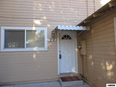 Carson City Condo/Townhouse Active/Pending-Call: 1230 S Curry