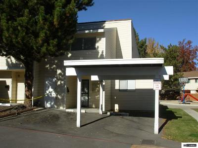 Washoe County Condo/Townhouse Active/Pending-Loan: 3505 Willow Hills Circle
