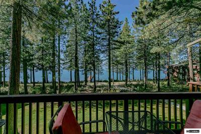 Zephyr Cove Condo/Townhouse For Sale: 600 Highway 50 #120