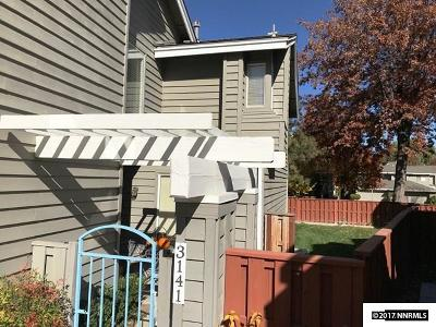 Washoe County Condo/Townhouse Active/Pending-Call: 3141 Oakshire