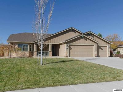 Sparks Single Family Home Active/Pending-House: 2291 Gorget