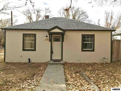 Carson City Single Family Home Active/Pending-House: 219 Lee