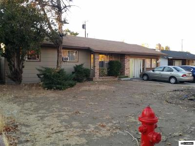 Washoe County Single Family Home Active/Pending-Loan: 1215 Silverada Blvd