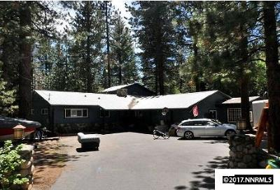 Incline Village Single Family Home Active/Pending-Short Sale: 809 McCourry Blvd