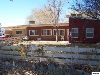 Yerington Single Family Home For Sale: 625 S Center