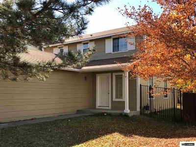 Carson City County Single Family Home Active/Pending-Loan: 2434 Blue Haven