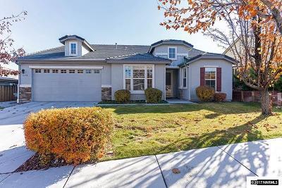 Sparks Single Family Home For Sale: 6190 Telehurst
