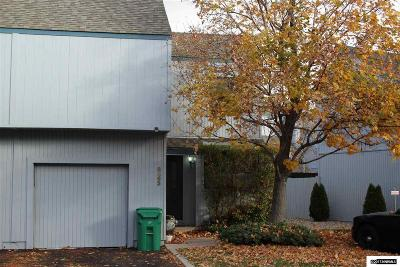 Sparks Condo/Townhouse For Sale: 2562 Garfield