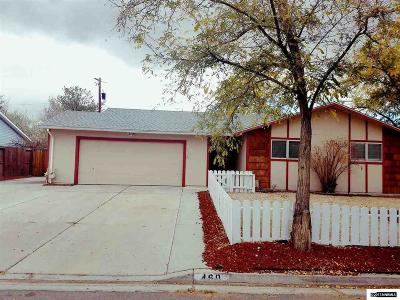 Fernley Single Family Home Active/Pending-Loan: 460 Spruce