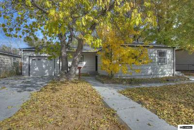 Washoe County Single Family Home Active/Pending-Loan: 1705 Grandview Ave
