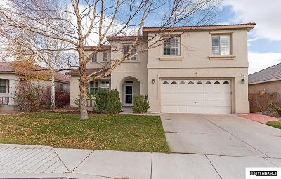 Sparks Single Family Home Active/Pending-Call: 2496 San Remo Drive
