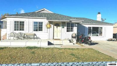 Sparks Single Family Home For Sale: 14 E J Street
