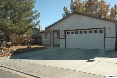 Carson City NV Single Family Home Active/Pending-Loan: $273,000