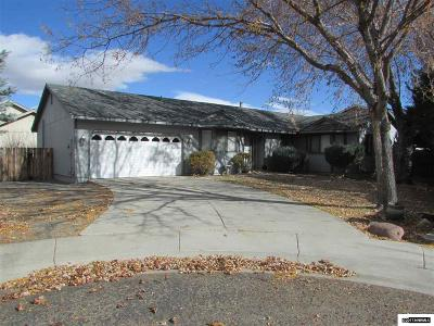 Minden Single Family Home Active/Pending-Loan: 1682 Mackland Ave.